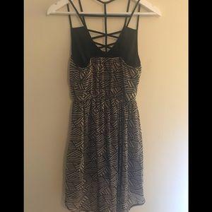Black & Grey dress, like new!